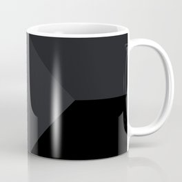 Simply Black on Black Coffee Mug