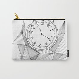 Geometric Pocket Watch Carry-All Pouch