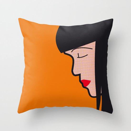 Pop Icon - Mia Throw Pillow
