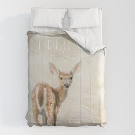 Believe You Can Comforters