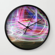 Carnival Lights Wall Clock