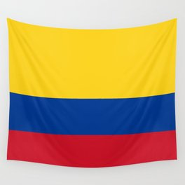 Colombian Flag - Flag of Colombia Wall Tapestry