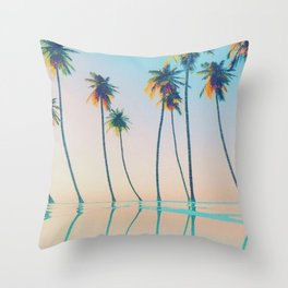 Beautiful Seaside Views Throw Pillow