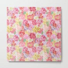 Lush Floral Metal Print
