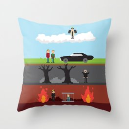 Supernatural - From Heaven and Hell Throw Pillow