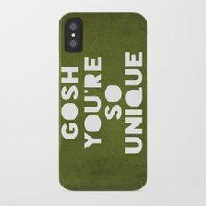 Gosh (Unique) iPhone X Slim Case