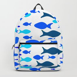 Blue Fishes Backpack