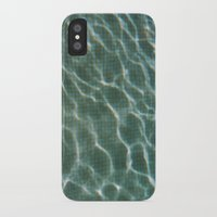 pool iPhone & iPod Cases featuring Pool by Marta Bocos