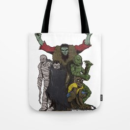 The Demonsterables (no text) Tote Bag