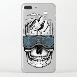 Skullorado v2 Clear iPhone Case
