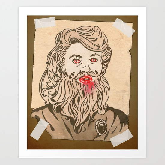 Bete Art Print
