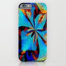 diagonal burst Slim Case iPhone 6s