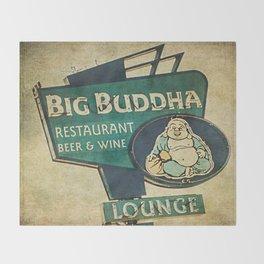 Big Buddha Throw Blanket