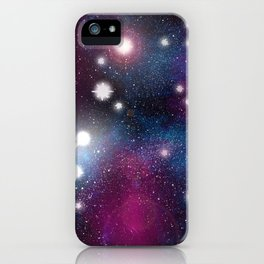 In A Galaxy, Far Far Away iPhone Case