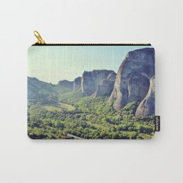 Supernatural Meteora, Greece - Fine Art Travel Photography Carry-All Pouch