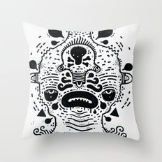 SADBOYZZ Throw Pillow