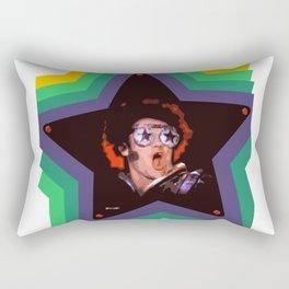 Rock and Roll Star Rectangular Pillow