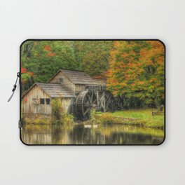 A Mabry Mill Autumn Laptop Sleeve