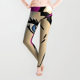 A roughly vectorised and reworked Roy Lichtenstein Leggings