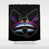 90s Shower Curtains featuring 90s trapped ickis by kiveson