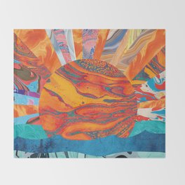 Sunrise, Sunset Throw Blanket