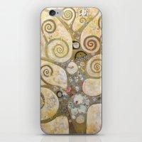 klimt iPhone & iPod Skins featuring klimt by Ju Tiscornia