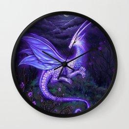 moonlight dragon Wall Clock