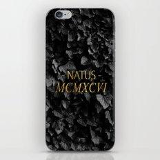 MCMXCVI - 1996 (ROMAN NUMBERS) iPhone & iPod Skin
