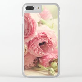 the first bouquet Clear iPhone Case