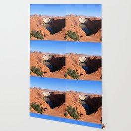 Glen Canyon Dam And Colorado River Wallpaper