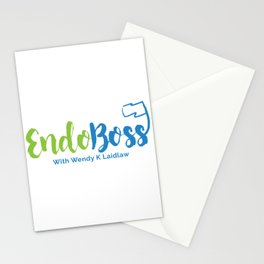 EndoBoss With Wendy K Laidlaw Stationery Cards