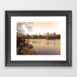 Central Fishing Framed Art Print