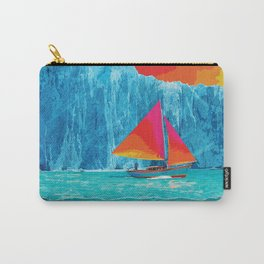 Sunrise Sails in the Arctic Ocean Carry-All Pouch