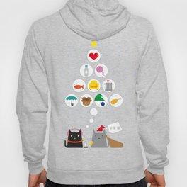 Santa Cat Hoody