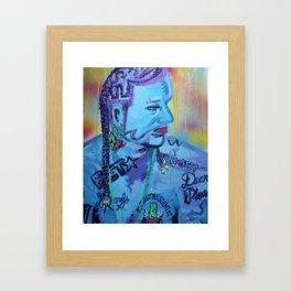 Jody Highroller Framed Art Print