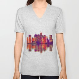 Syracuse USA Skyline Unisex V-Neck