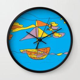 Days at Sea Wall Clock