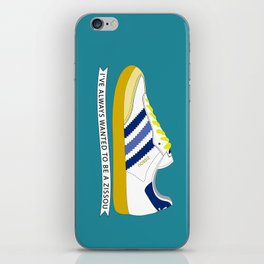 I've Always Wanted to be a Zissou - The Life Aquatic iPhone Skin