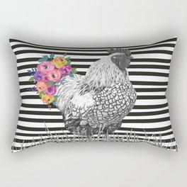 Chicken Bouquet Rectangular Pillow