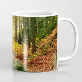 Path Through The Trees - Landscape Nature Photography Coffee Mug