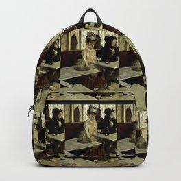 "Edgar Degas ""The Absinthe Drinker (Au Café, l'Absinthe)"" Backpack"