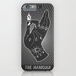Minimal Tarot Deck The Magician iPhone Case