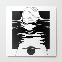 Ripple 15 Metal Print