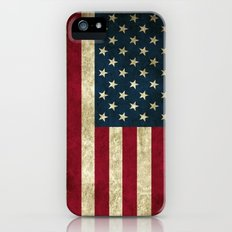 American Flag  iPhone (5, 5s) Slim Case