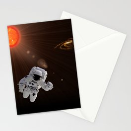 Astronaut And Sun Stationery Cards