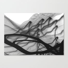ink-like Canvas Print