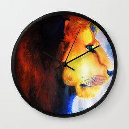 Technicolor King Wall Clock