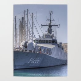 Turkish Navy Tuzla Class Patrol Boat Poster