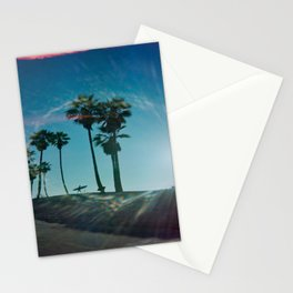 The solo surfer Stationery Cards