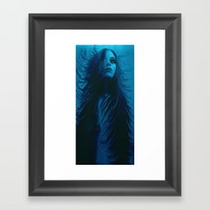 Come Undone Framed Art Print